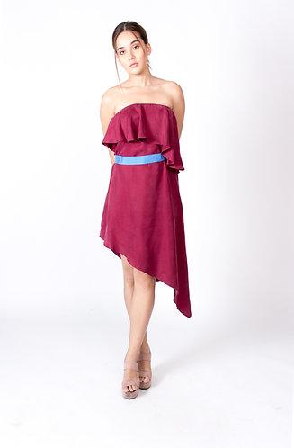 Maroon Celine Dress