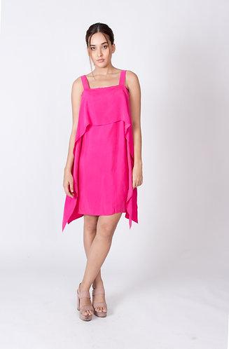 Fuschia Stella Layer Dress