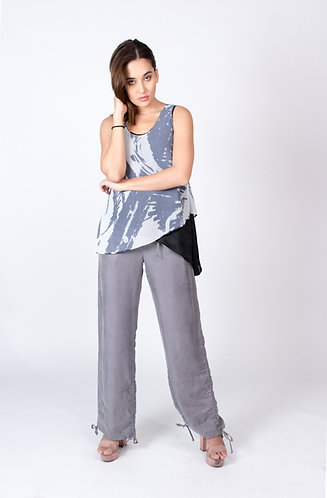 Grey Patricia Drawstring Pants