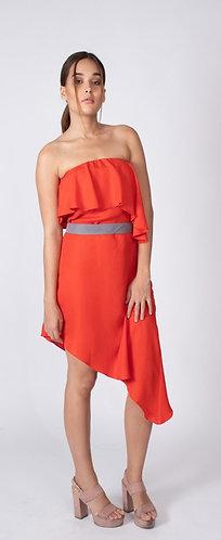 Red Celine Dress