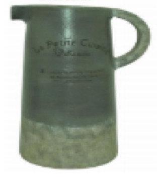 Green Crocodile Ceramic Pitcher Vase