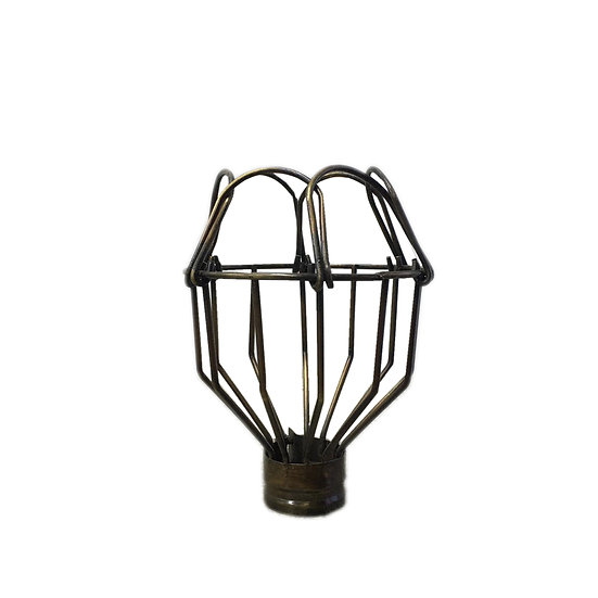 Lamp Cage (Small-Brass)