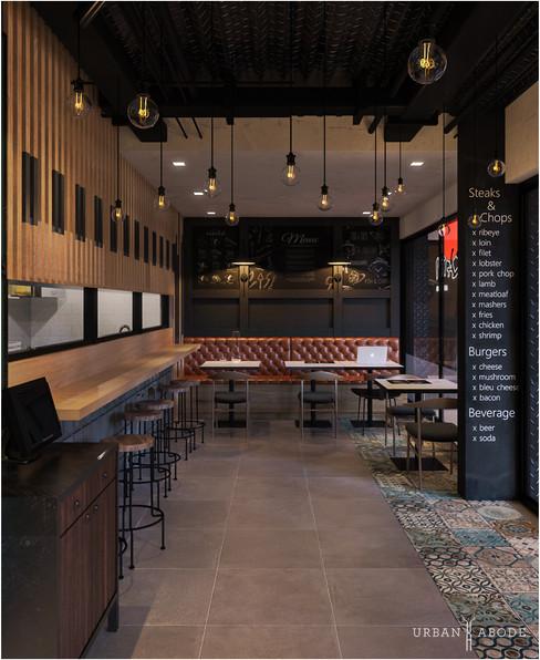 Cafes + Food Halls