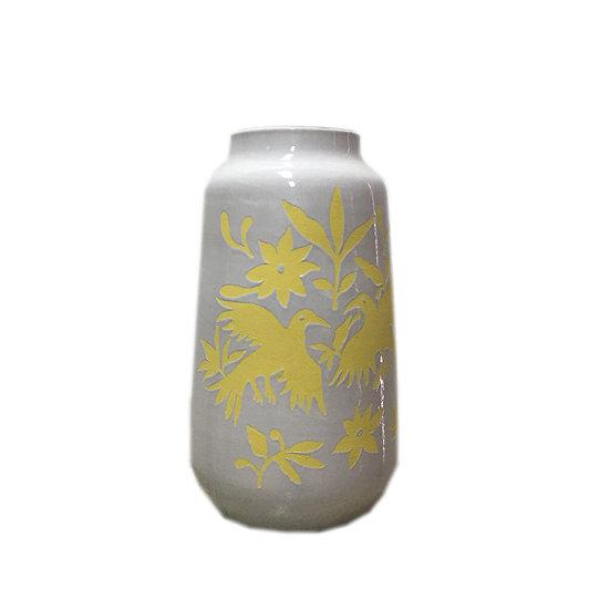 Medium Nature Ceramic Vase (Yellow)