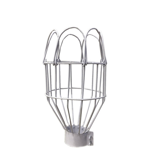 Lamp Cage (Medium-White)