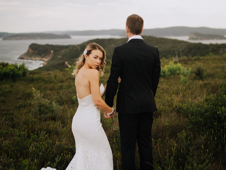 Elopement by the sea