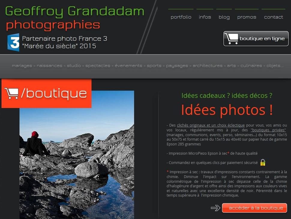 Boutique photos et posters en ligne