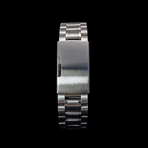Carzo et Lieutier silver Polished Stainless Steel Watch Band Bracelets