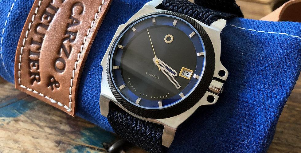 Carzo et Lieutier Saint Luxeuil Special 001 custom watch motorcycle