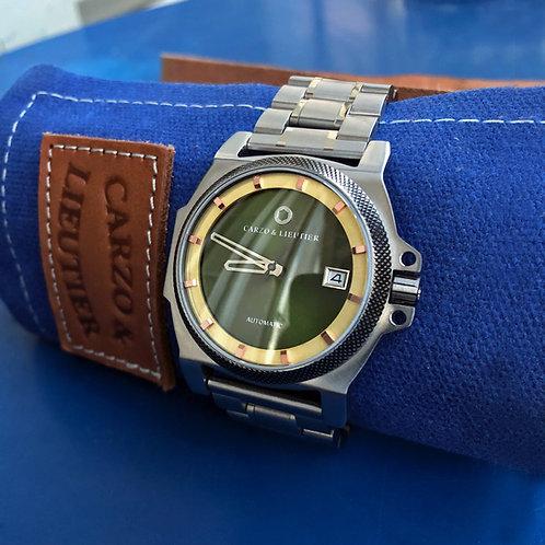 Carzo et Lieutier custom watch bar Unorthodox 05 Automatic