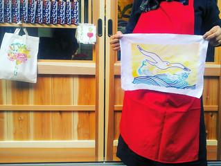 ミニ大漁旗の染め体験 - お客様の声