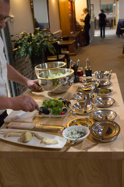 Table Side Salad Cart