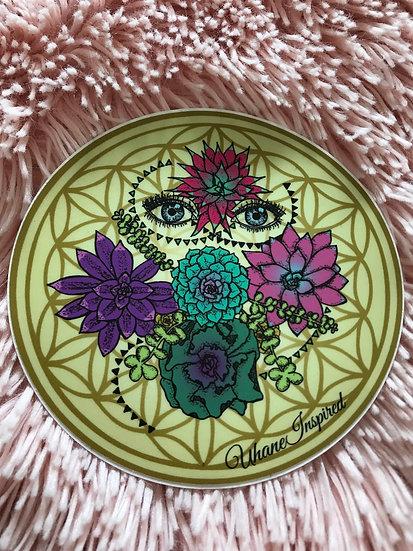"""Mystic Visions"" Succulent Sticker"
