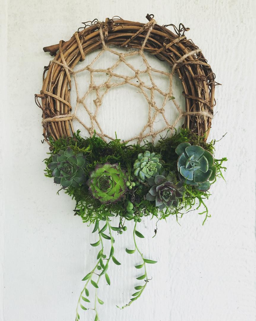 Succulent Dreamcatcher Workshop