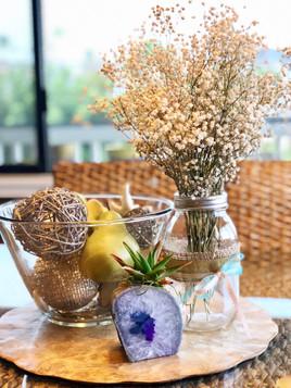 Succulent & Agate