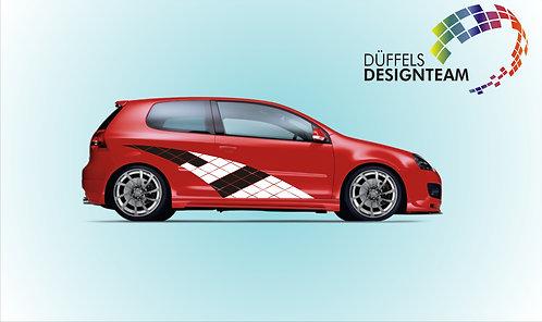 Kachel Design Schweif