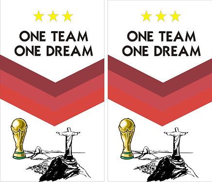 One Team , One Dream Faltschild