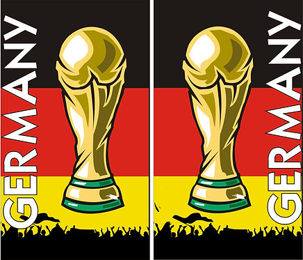 Weltmeister Pokal groß
