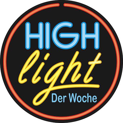 "Aufkleber ""Highlight"""