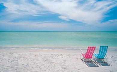 Private Beach at Land's End, Treasure Island, FL