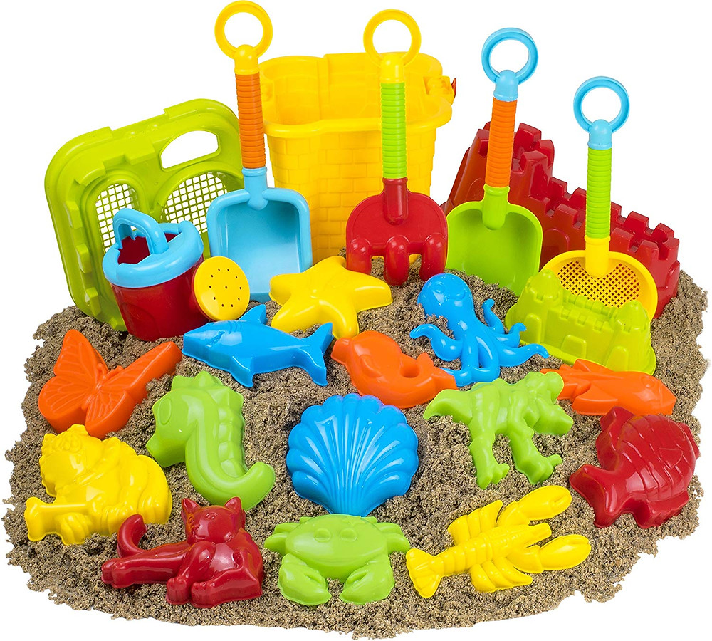 Large Set of Kids Beach Toys