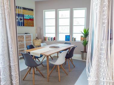 Cap berilou salle à manger rideaux