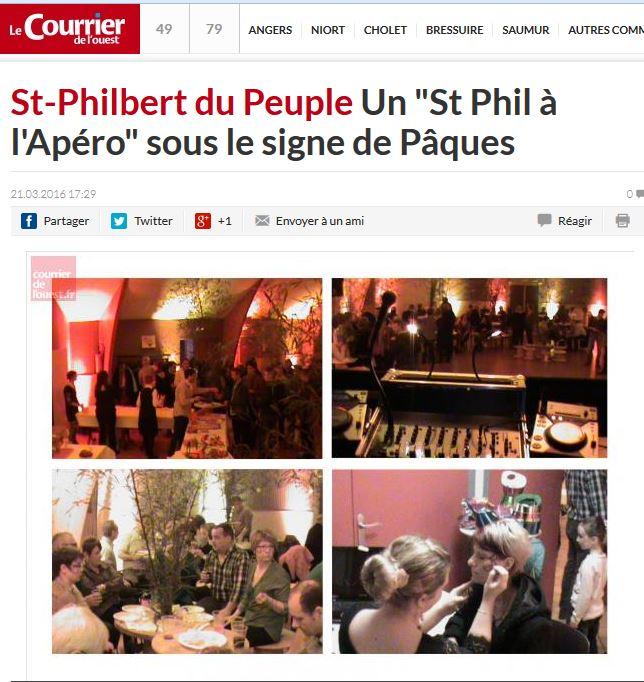 St Phil Apéro à Pâques