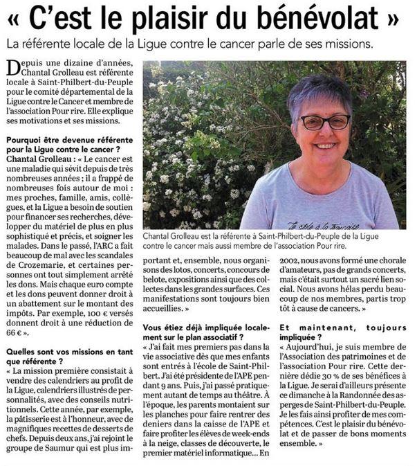 """""""C'est le plaisir du bénévolat"""""""