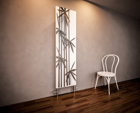 Bamboo grey Designer Panel Radiator