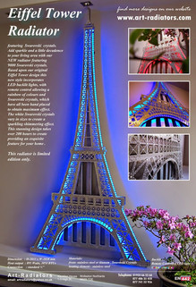 Eiffel Tower Designer Radiator