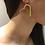 Thumbnail: Fe7252 Εντυπωσιακά σκουλαρίκια καρδιές,με κρύσταλλα