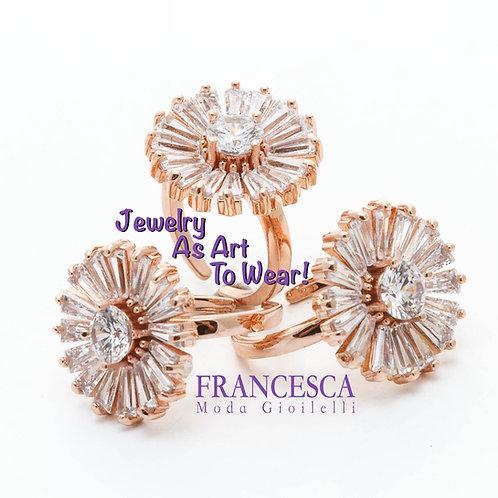 Fr8506Exclusive ring! Εντυπωσιακό δαχτυλίδι με κρύσταλλα,για όλα τα δάχτυλα.