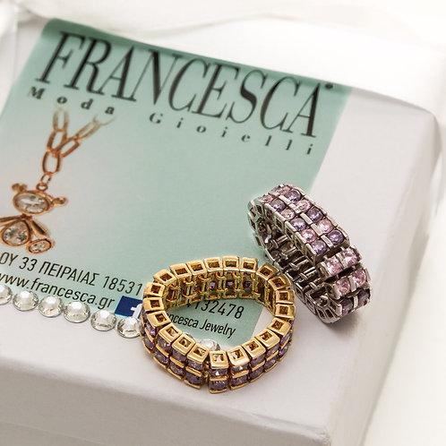 Fr7143 Χειροποίητο δαχτυλίδι από Ασήμι 925°