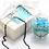 Thumbnail: Fn7546 Λεπτό κολιέ rozario, κοντό στο λαιμό σε τιμή Προσφοράς!!
