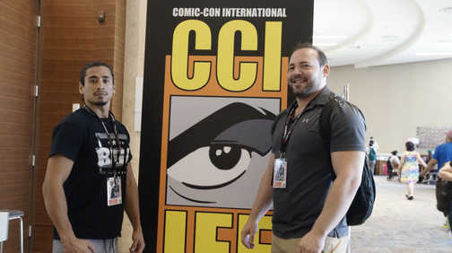 """Nick and Mike """"QT"""" at Comic Conn"""