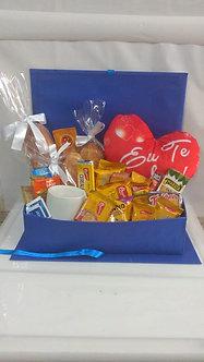 Café da manhã na caixa