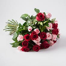 Buque de 32 rosas mescladas