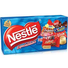 Caixa de chocolates nestre