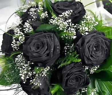 buque 7 rosas negras