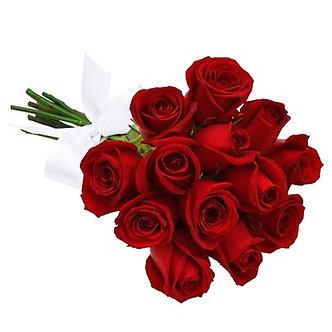 buque 12 rosas vermelhas Colombianas
