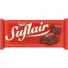 Barra de chocolate Suflair  50 gr