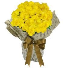 Vaso de Begonhia amarela