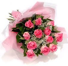 Buque de 12 Rosas Rosas