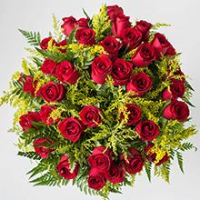 Buque de 100 rosas vermelhas top