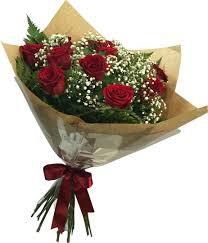 BUQUE  12 ROSAS VERMELHAS  I LOVE YOU TOO