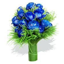 Buque de Noiva blue