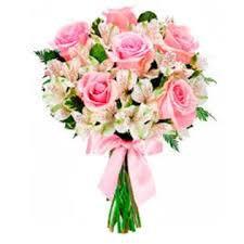 buque de  rosas amorosas e astromélia