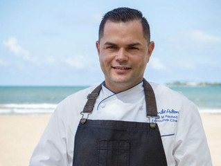 San Juan, Puerto Rico's Caribe Hilton Livens Things Up with New Executive Chef
