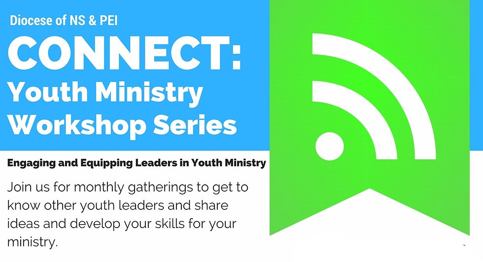 Connect: Youth Ministry Workshop Series