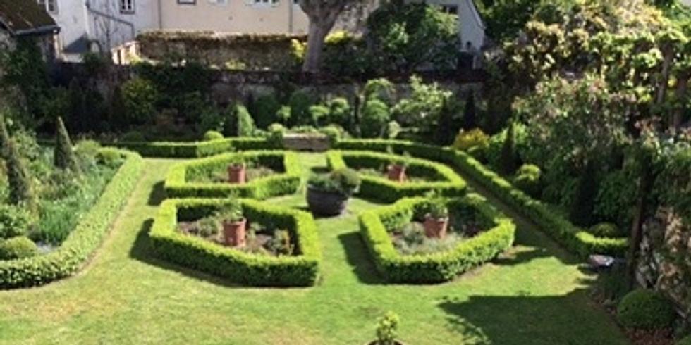 Visite de deux jardins de ville